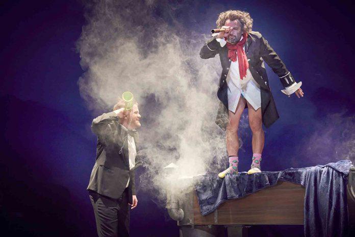 Ludwig van Beethoven, mejor conocido como 'Ludi', será uno de los protagonistas del espectáculo. / E. A.