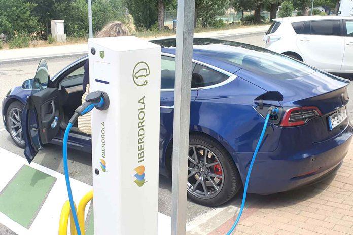 Nuevos puntos de recarga para coches eléctricos en El Espinar. /E.A.