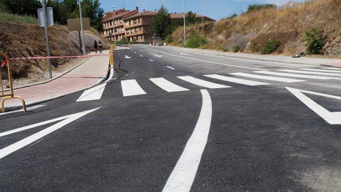 Calle San Gabriel Obras Poste Telegrafos