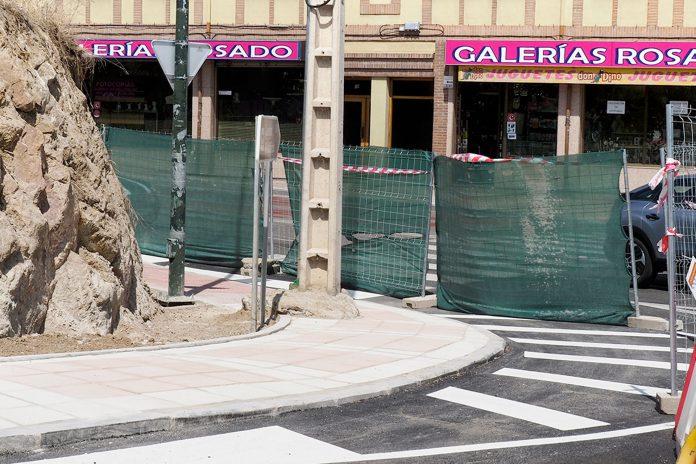 Calle San Gabriel Obras Poste Telegrafos KAM5334