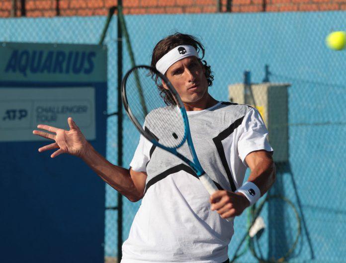 Feliciano López, en el Open de El Espinar. / OPEN DE EL ESPINAR