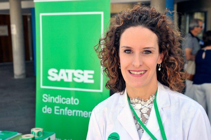 """Miriam Rubio lucha cada día para que se proteja """"de manera adecuada"""" a las enfermeras de Segovia. / KAMARERO"""
