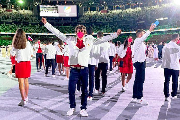 Juegos Olimpicos Inauguracion david llorente