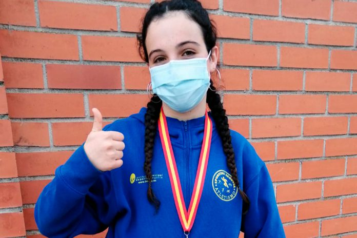 atletismo Nora Garcia PlataPeso