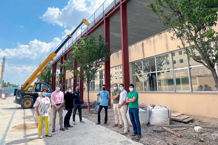 centro civico nueva segovia obras visita alcaldesa
