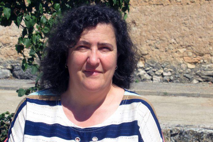 María del Mar Martín reivindica la pérdida de recursos que sufre el entorno rural desde hace años. / EL ADELANTADO