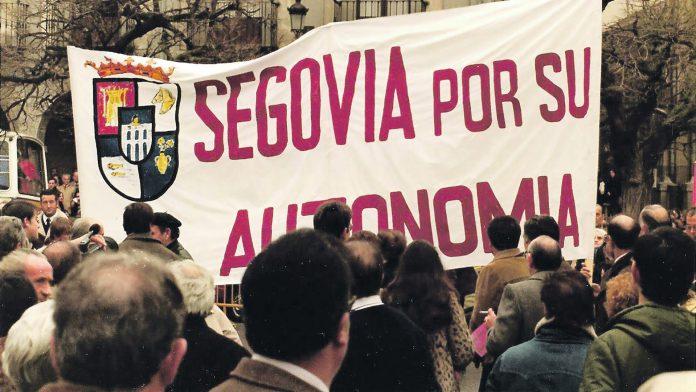 manifestacion pro autonomia Segovia 10 enero 82 web