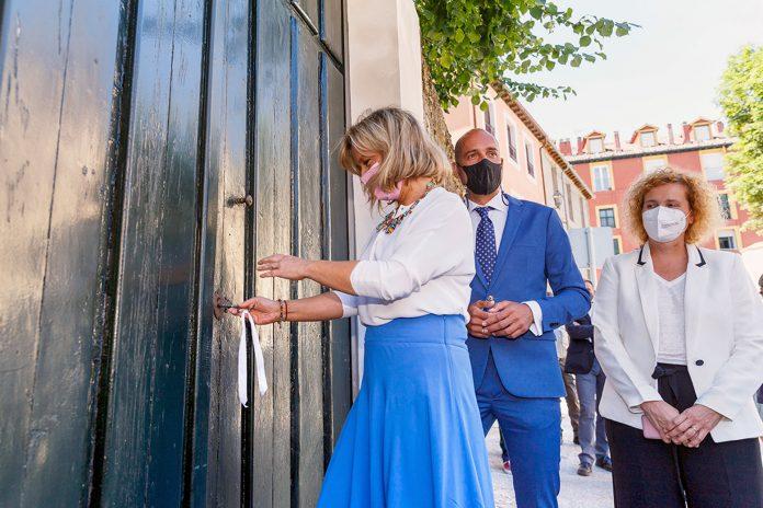 san ildefonso palacio jardines apertura puerta alfonso XII 524096