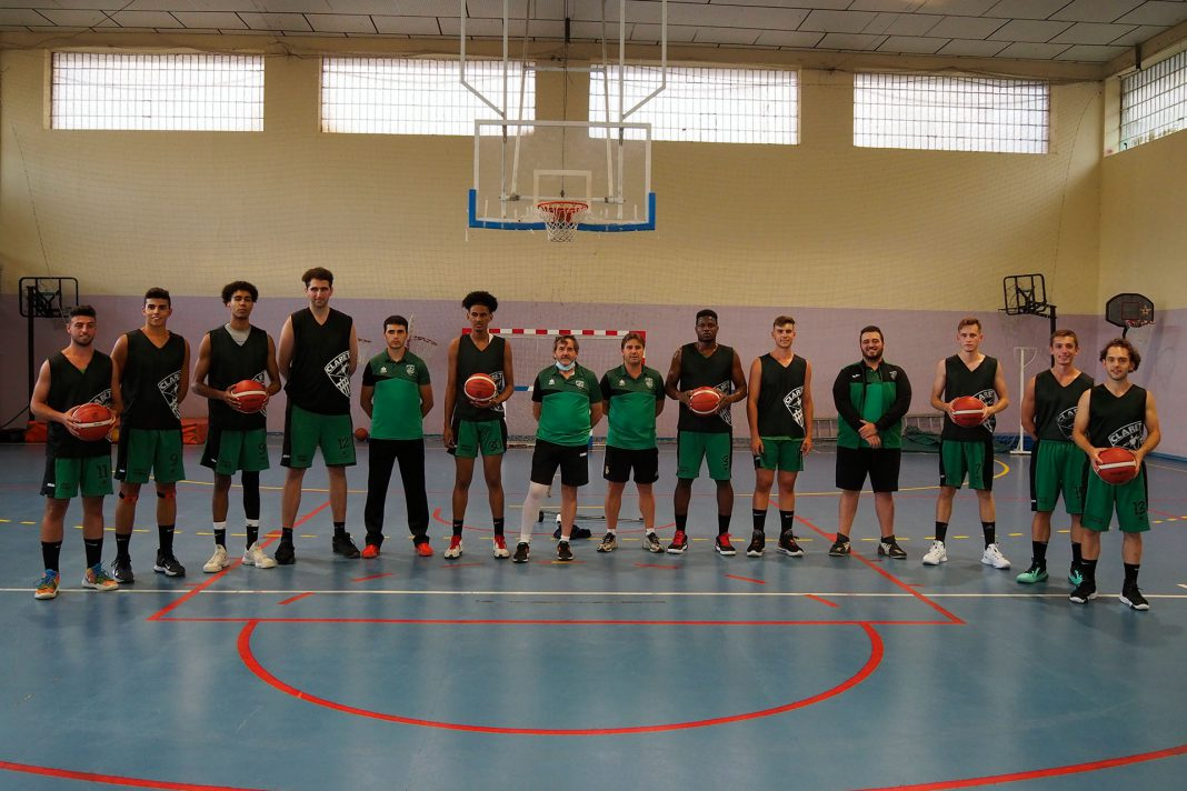 Baloncesto Claret EBA Primer Entrenamiento KAM8520