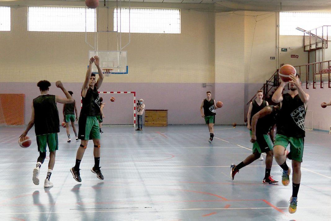 Baloncesto Claret EBA Primer Entrenamiento KAM8546