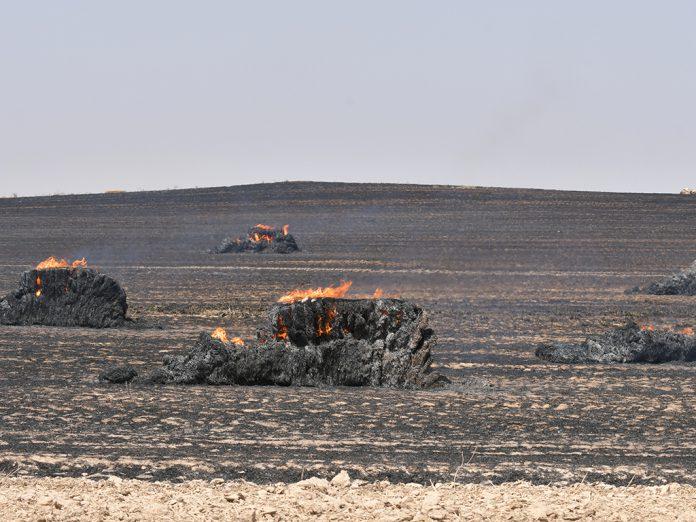Incendio en Encinillas. / JAIME GUERRERO