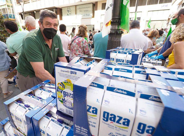 protesta ganaderos leche valladolid 1