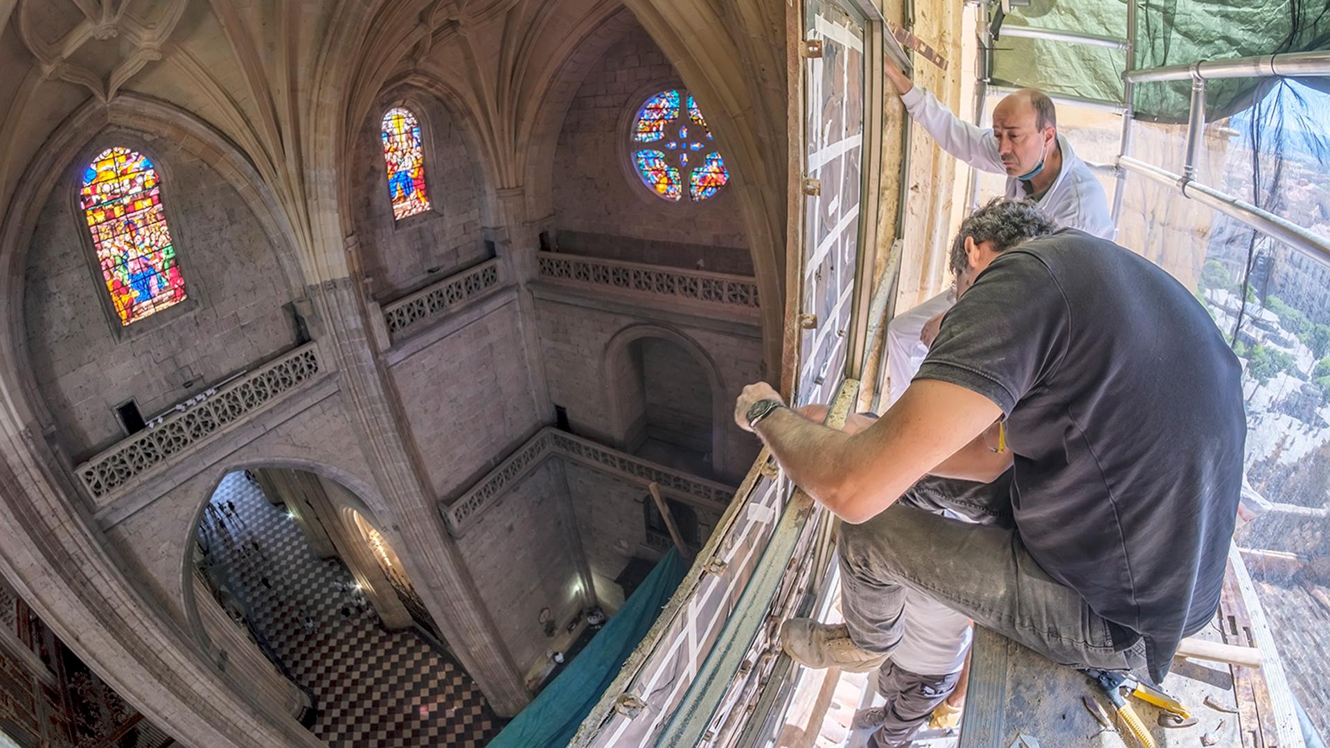 vetraria vidriera catedral de segovia