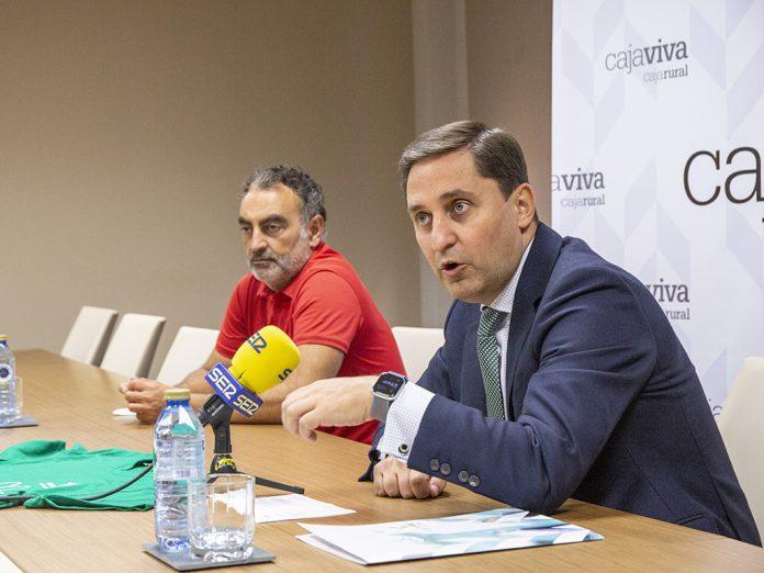 Caja Rural Segovia se suma al Día Solidario a favor de Cáritas. / NEREA LLORENTE