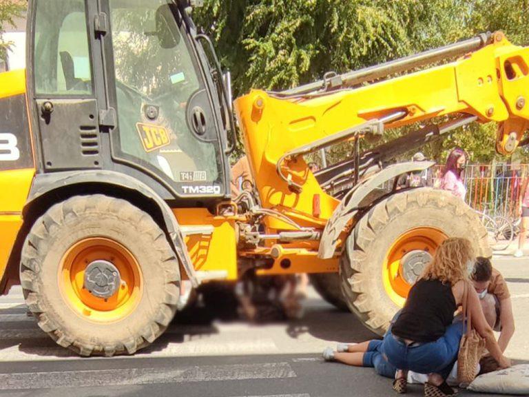 Fallece una mujer de 90 años tras ser atropellada por un tractor en Nava de la Asunción