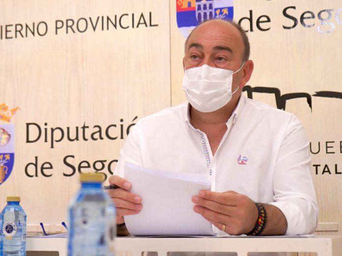 El presidente de la Diputación de Segovia, Miguel Ángel de Vicente. / EL ADELANTADO