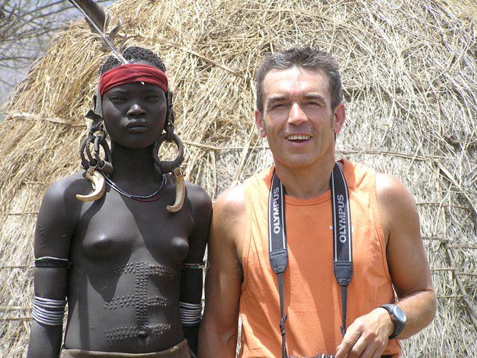 Durante su viaje a Etiopía, Ángel Gracia logró adentrarse en la vida de su población. / Á. GRACIA