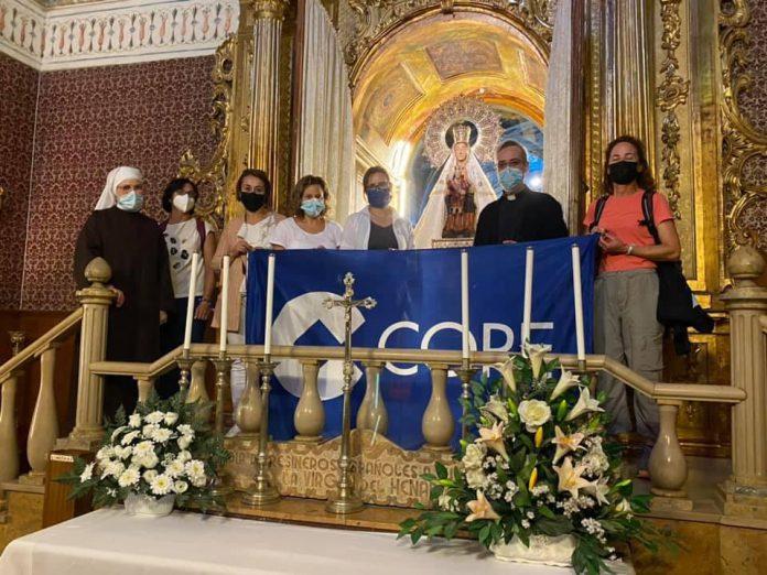 Foto llegada Peregrinación COPE Año Jubilar