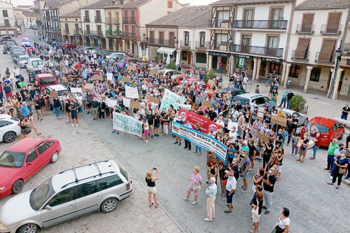 Manifestacion sanidad rural