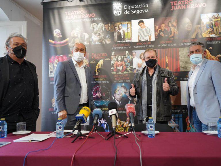 El Juan Bravo cierra 2021 con teatro aficionado y grandes nombres de la música y la escena