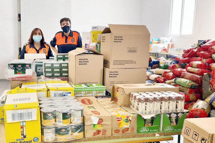 el espinar proteccion civil banco alimentos copia