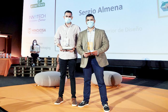 El primer premio obtenido por la EASD de Segovia fue para el proyecto 'Bloco' de Sergio Almena. / EL ADELANTADO