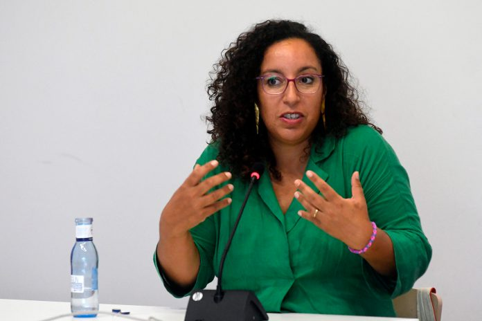 """Najat el Hachmi ha rechazado que exista la """"literatura para mujeres"""". / EFE"""