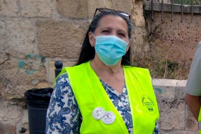 María Dolores Rodríguez forma parte de la Coordinadora Estatal por la Defensa del Sistema Público de Pensiones (COESPE). / EL ADELANTADO