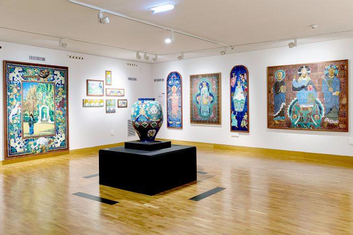 Exposición de Daniel Zuloaga en el Museo Pablo Gargallo de Zaragoza, donde permanecerá hasta el próximo 17 de octubre. / ICAL